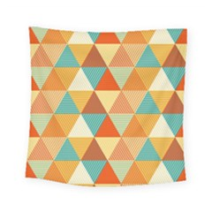 Triangles Pattern  Square Tapestry (small)