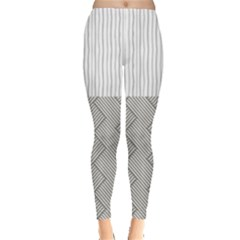 Lines and stripes patterns Leggings