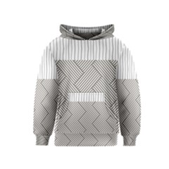 Lines and stripes patterns Kids  Pullover Hoodie