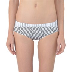 Lines and stripes patterns Classic Bikini Bottoms
