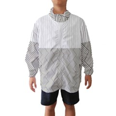 Lines and stripes patterns Wind Breaker (Kids)