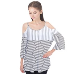 Lines And Stripes Patterns Flutter Tees