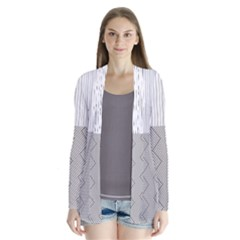 Lines and stripes patterns Cardigans