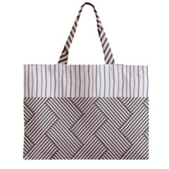 Lines And Stripes Patterns Medium Tote Bag