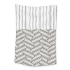 Lines And Stripes Patterns Small Tapestry