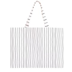 Hand drawn lines pattern Large Tote Bag