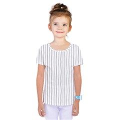 Hand Drawn Lines Pattern Kids  One Piece Tee