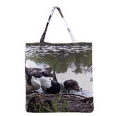Treeing Walker Coonhound In Water Grocery Tote Bag