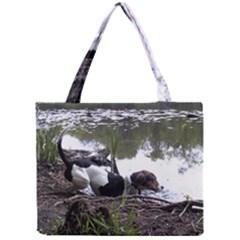 Treeing Walker Coonhound In Water Mini Tote Bag