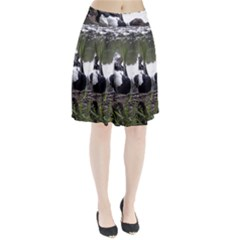 Treeing Walker Coonhound In Water Pleated Skirt