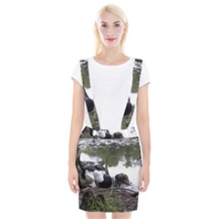 Treeing Walker Coonhound In Water Suspender Skirt