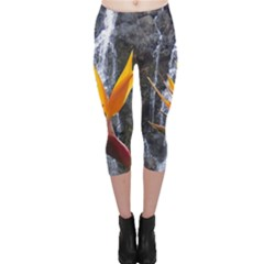 Bird of Paradise Capri Leggings