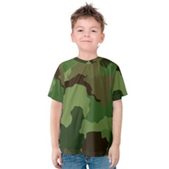 A Completely Seamless Tile Able Background Design Pattern Kids  Cotton Tee