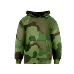 A Completely Seamless Tile Able Background Design Pattern Kids  Pullover Hoodie