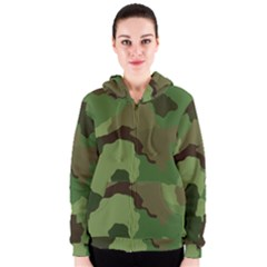 A Completely Seamless Tile Able Background Design Pattern Women s Zipper Hoodie