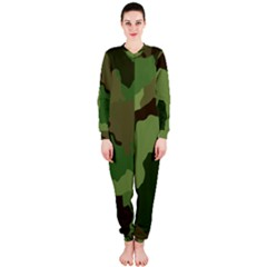 A Completely Seamless Tile Able Background Design Pattern Onepiece Jumpsuit (ladies)