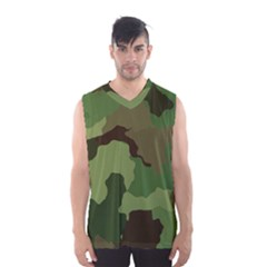 A Completely Seamless Tile Able Background Design Pattern Men s Basketball Tank Top