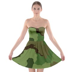 A Completely Seamless Tile Able Background Design Pattern Strapless Bra Top Dress