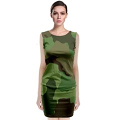 A Completely Seamless Tile Able Background Design Pattern Classic Sleeveless Midi Dress