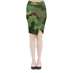 A Completely Seamless Tile Able Background Design Pattern Midi Wrap Pencil Skirt