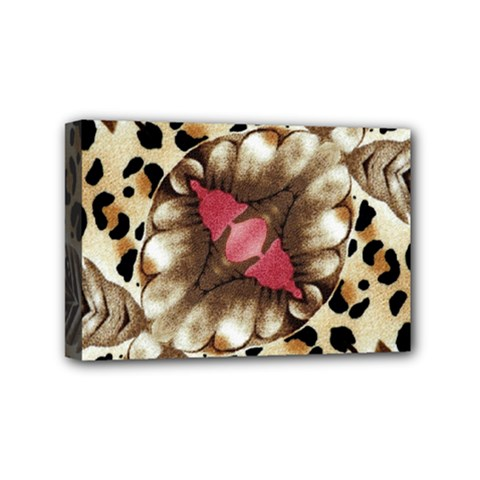Animal Tissue And Flowers Mini Canvas 6  x 4