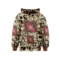 Animal Tissue And Flowers Kids  Pullover Hoodie