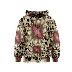 Animal Tissue And Flowers Kids  Zipper Hoodie