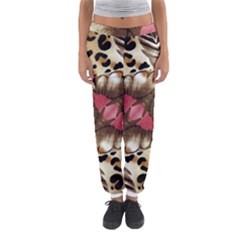 Animal Tissue And Flowers Women s Jogger Sweatpants
