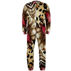 Animal Tissue And Flowers Onepiece Jumpsuit (men)