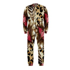 Animal Tissue And Flowers OnePiece Jumpsuit (Kids)