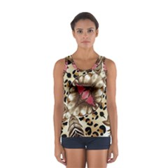 Animal Tissue And Flowers Women s Sport Tank Top