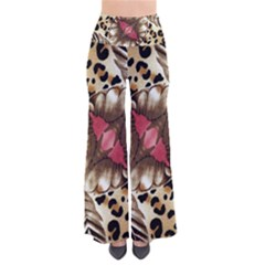 Animal Tissue And Flowers Pants