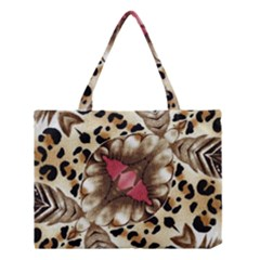 Animal Tissue And Flowers Medium Tote Bag