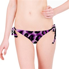 Background Fabric Animal Motifs Lilac Bikini Bottom