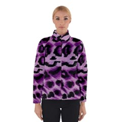 Background Fabric Animal Motifs Lilac Winterwear