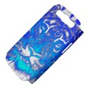 Background Fabric With Tiger Head Pattern Samsung Galaxy S III Hardshell Case (PC+Silicone) View4