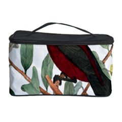Bird On Branch Illustration Cosmetic Storage Case