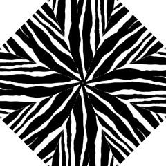 Zebra Background Pattern Golf Umbrellas