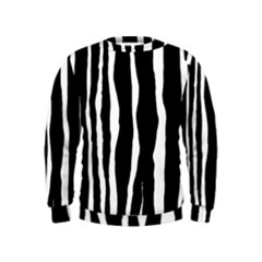 Zebra Background Pattern Kids  Sweatshirt