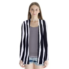 Zebra Background Pattern Cardigans