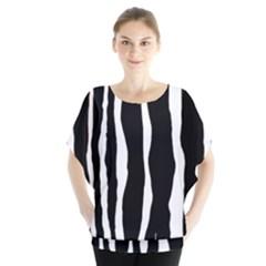 Zebra Background Pattern Blouse