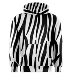Seamless Zebra A Completely Zebra Skin Background Pattern Men s Zipper Hoodie