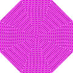 Clovers On Pink Straight Umbrellas