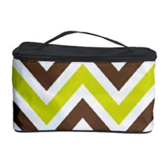 Chevrons Stripes Colors Background Cosmetic Storage Case