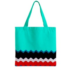 Pattern Digital Painting Lines Art Grocery Tote Bag