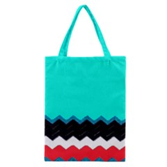 Pattern Digital Painting Lines Art Classic Tote Bag