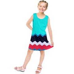 Pattern Digital Painting Lines Art Kids  Tunic Dress