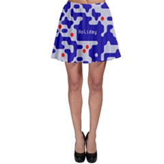 Digital Computer Graphic Qr Code Is Encrypted With The Inscription Skater Skirt