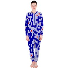 Digital Computer Graphic Qr Code Is Encrypted With The Inscription Onepiece Jumpsuit (ladies)