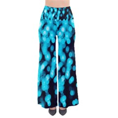 Bokeh Background In Blue Color Pants